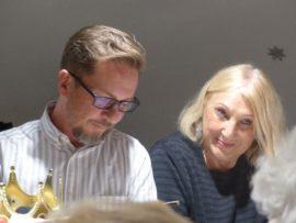Frank Walther und Cosima Asen