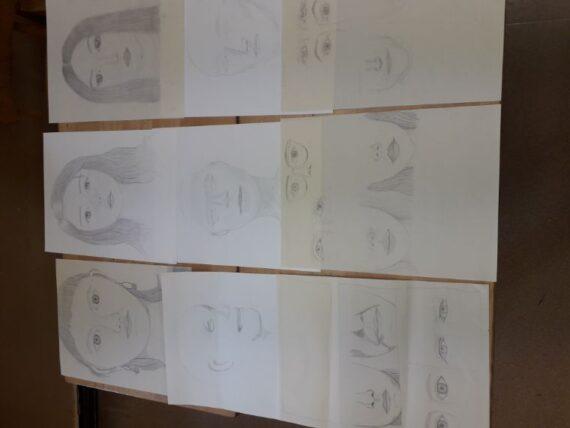 Jugendworkshop Porträt