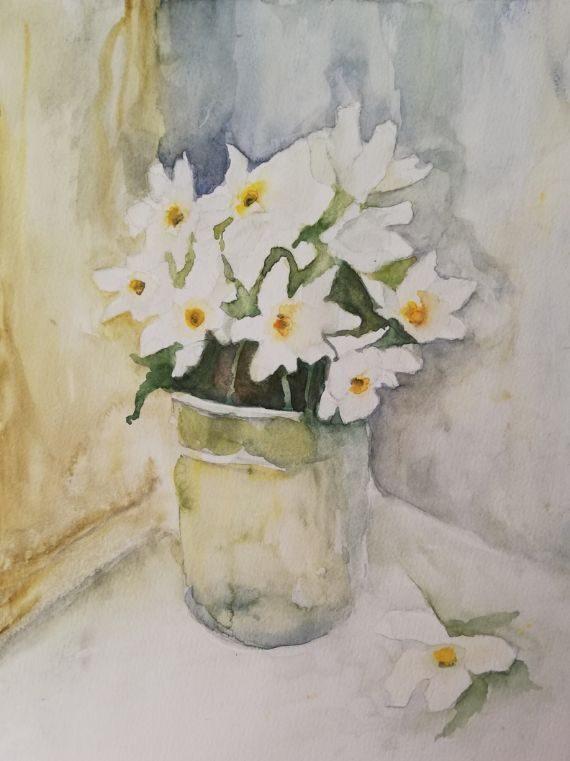 Schönheiten in Weiß