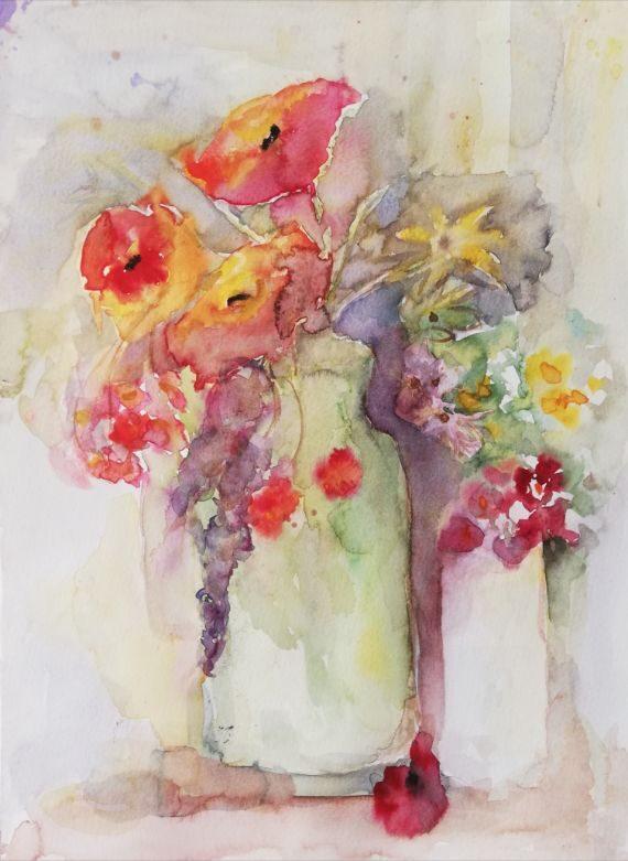 Zauberhafte Blütenmalerei