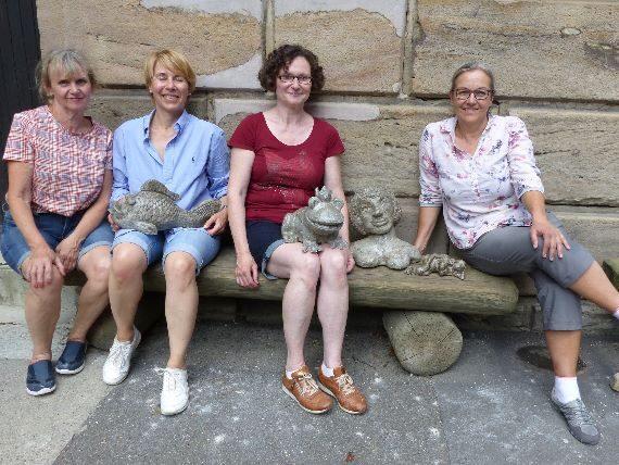 Vier Künstlerinnen